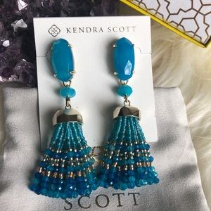 RESERVED-Kendra Scott Dove earrings